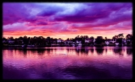 <h5>Oulton Broad Sunset by Wally Crowther</h5>