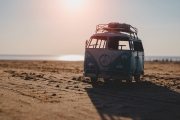 <h5>Toy VW On The Beach by Miles Parker</h5>