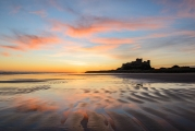 <h5>Bamburgh Sunrise by Alan Raeburn</h5>