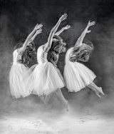 <h5>Experienced - Three Dancers by Pauling Pentony ARPS</h5>