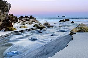 Cot Valley Beach Stream
