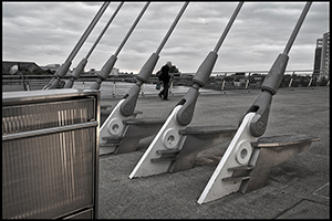 Salford Quays (Bridge Bolts)Mono-Richard Adams