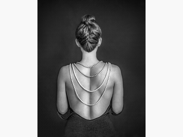 Highly Commended Experienced -Pearls by Pauline Pentony