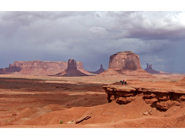 Highly Commended Aspiring - Monument Valley by Sylvia Morrow