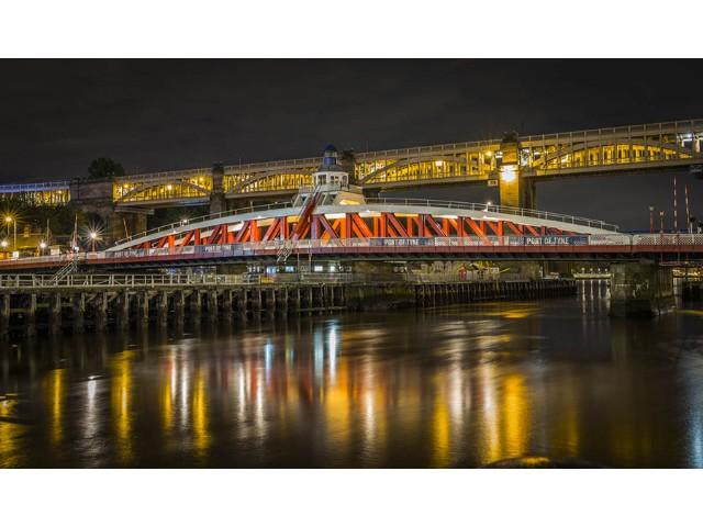 2nd Aspiring - Tyne Swing Bridge by Keith Parker