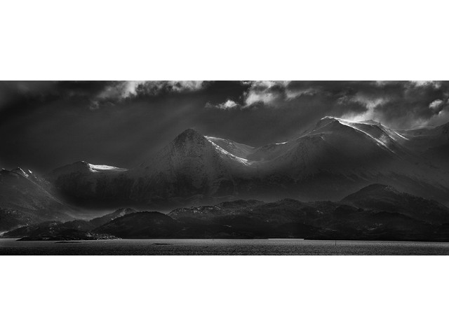 Highly Commended Experienced - Mountains Meet The Sea by Sandy Robertson