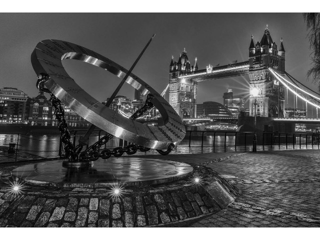 3rd Aspiring - Time by Tower Bridge by Keith Parker