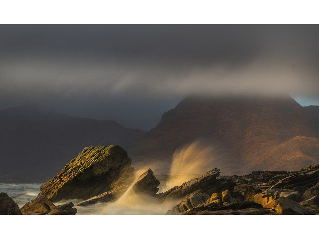 1st Aspiring - Elgol, Isle Of Skye by Sandra Cockayne
