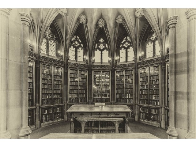 Highly Commended Aspiring - John Rylands Library Manchester by Keith Parker