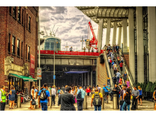 Highly Commended Aspiring - London Bridge Station Alan Glickman