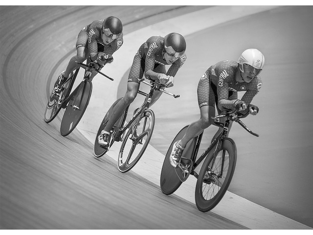 Highly Commended - Three In A Line by Lee Sutton